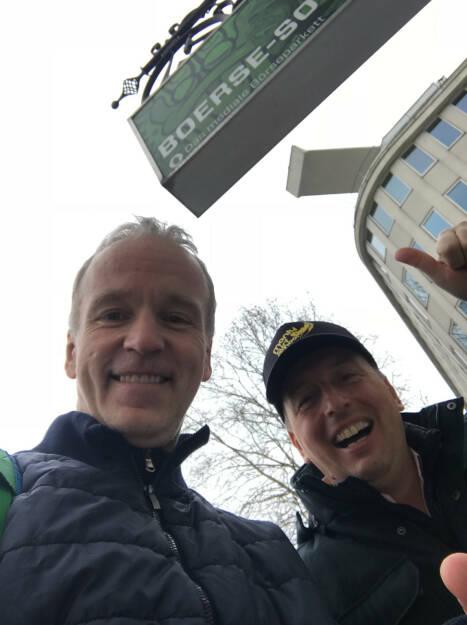 Mit Chief Nerd-Kumpel Günther Ottendorfer, der u.a. für T-Mobile, Telekom Austria und Sprint (USA) als Vorstand tätig war (15.03.2018)