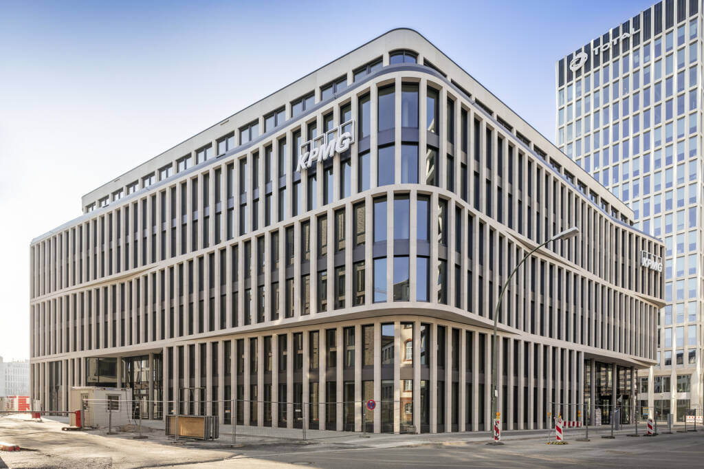CA Immo hat das KPMG-Gebäude in der Berliner Europacity fertiggestellt und an den Mieter KPMG übergeben. Bild: CA Immo (20.03.2018)