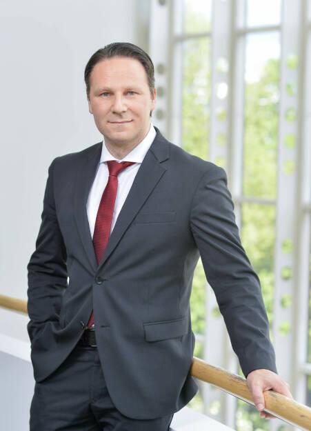 Mag. Alexander Novak wurde in den Vorstand der BKS Bank berufen. Bislang war Mag. Novak Leiter der BKS Bank-Direktion Slowenien. Er wird sich vor allem für das Auslandsgeschäft verantwortlich zeichnen. Credit: Helge Bauer, © Aussendung (27.03.2018)