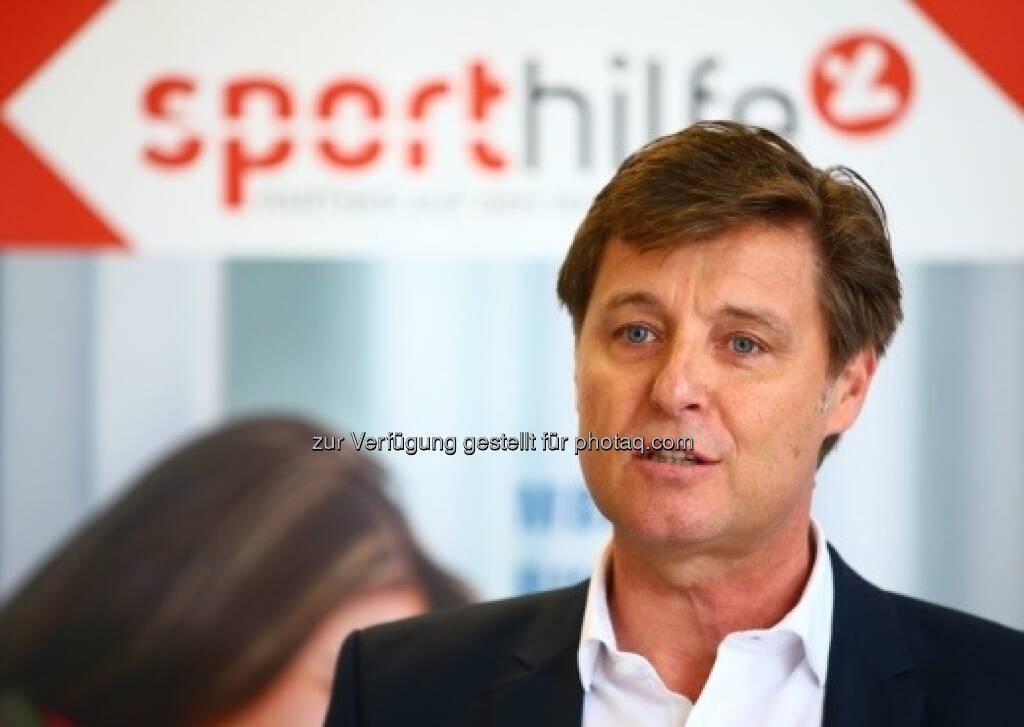 Harald Bauer, Sporthilfe (04.04.2018)