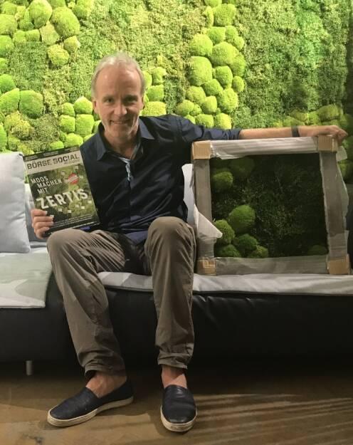 Moos machen mit Zertifikaten, geniales wildes Moos by Andreas Lichtblau (19.04.2018)