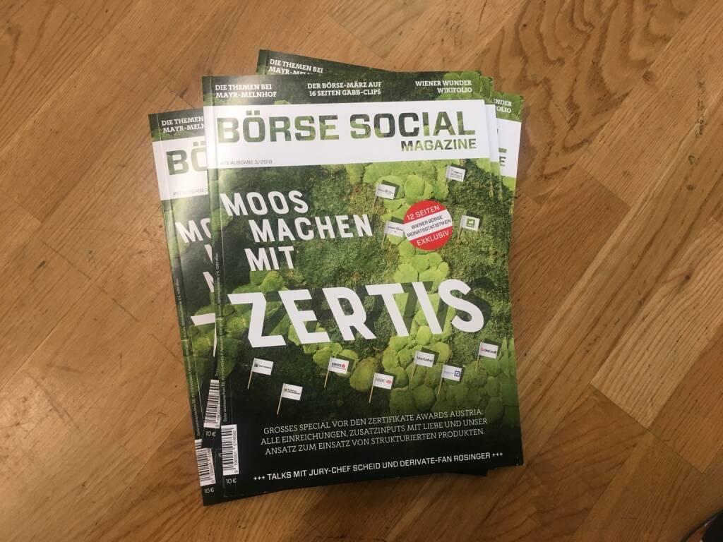 Börse Social Magazine, Cover (06.05.2018)