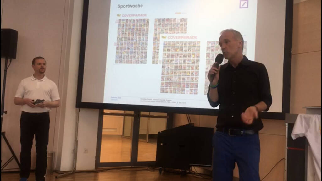 Christian-Hendrik Knappe, Christian Drastil Laufstark zum Börse Social Network Club Sport Woche (06.05.2018)