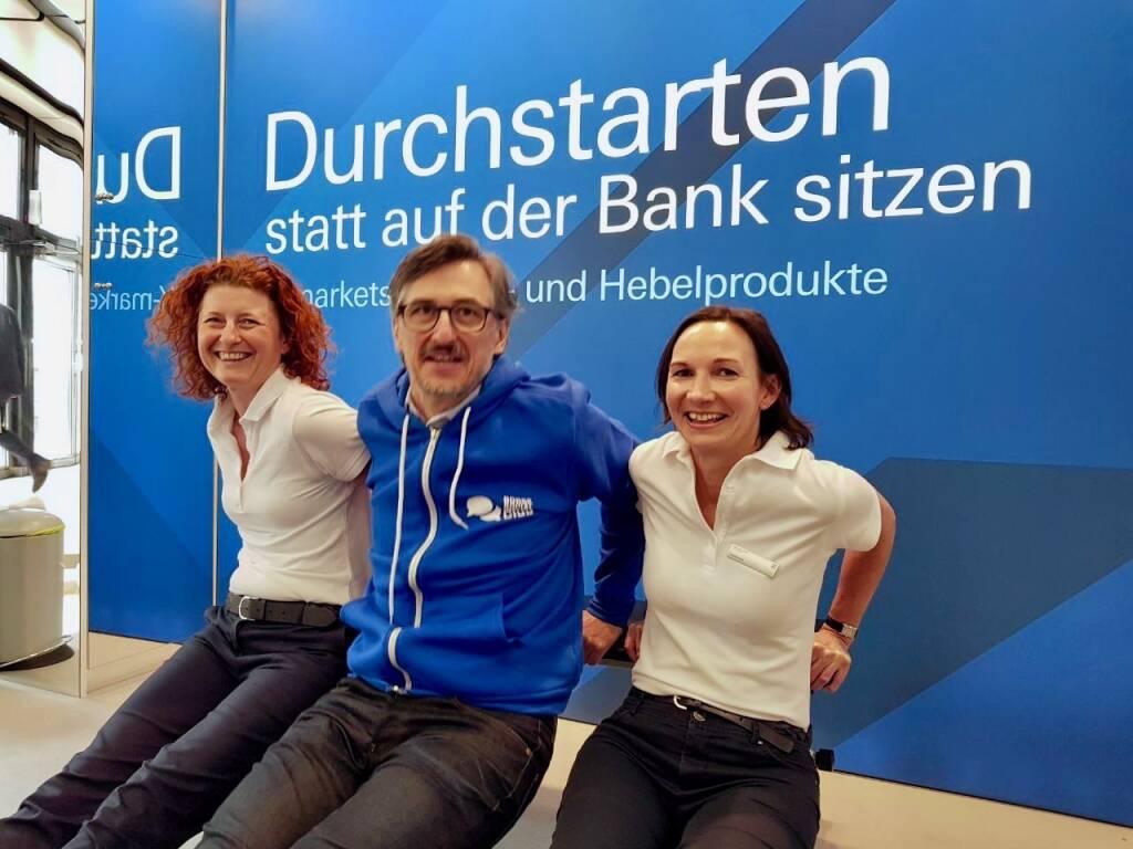 Sandra Warmuth (DB), Josef Chladek (BSN), Justyna Kojro (DB) (07.05.2018)