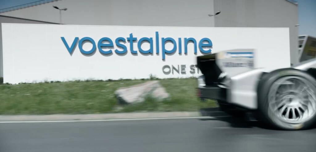voestalpine wird Hauptsponsor der europäischen Formel E Rennen, Bild: Screenshot aus voestalpine TV Footage, © Aussendung (09.05.2018)