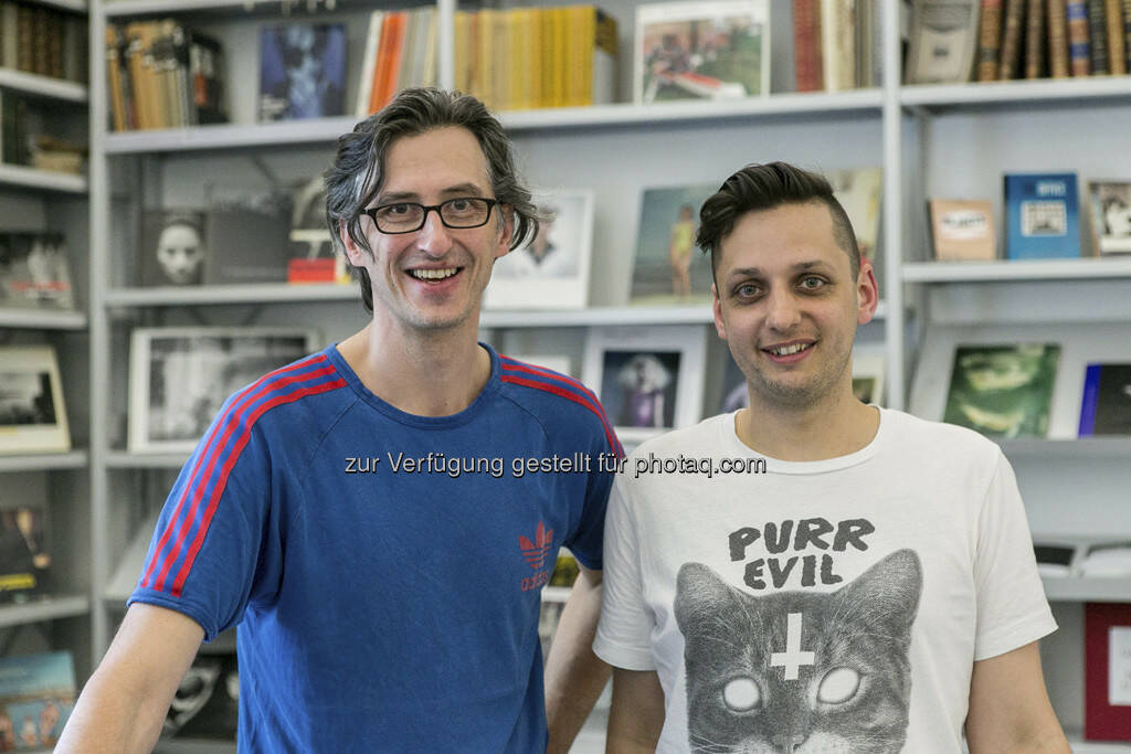 Josef Chladek, Klaus Pichler, ViennaPhotoBookFestival 2013, © Martina Draper (09.06.2013)