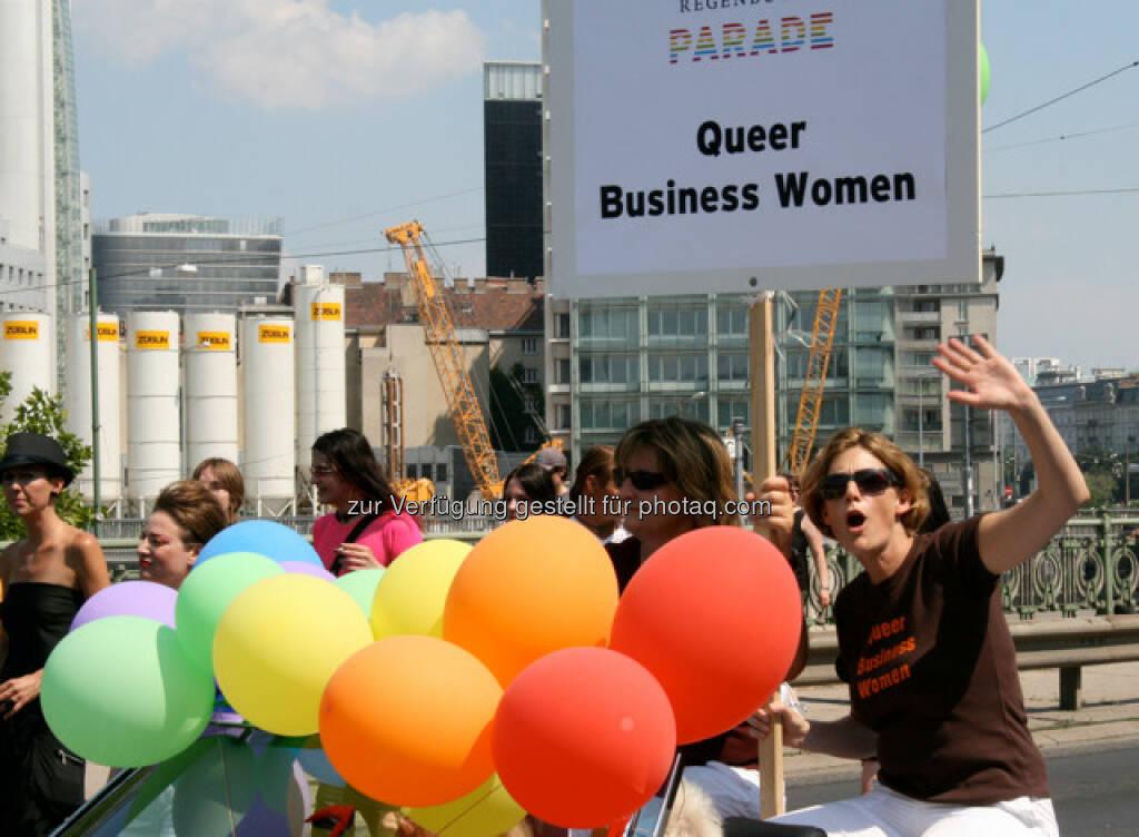 Regenbogenparade in Wien, Queer Business Women (14.06.2013)