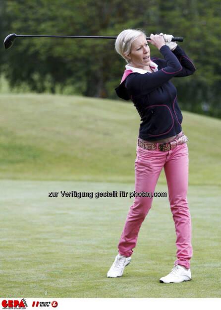Sporthilfe Golf Trophy, GCC Schladming. Heidi Neururer (AUT), Foto: GEPA pictures/ Harald Steiner (17.06.2013)