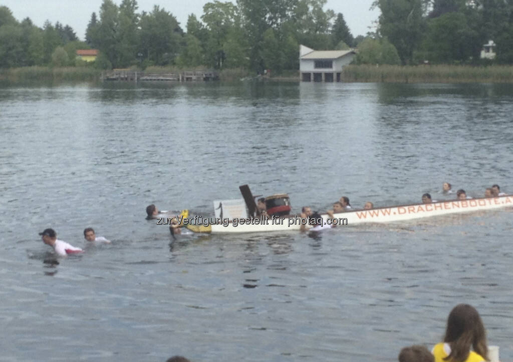 Drachenboot Cup 2013: Wien Süd gekentert (19.06.2013)