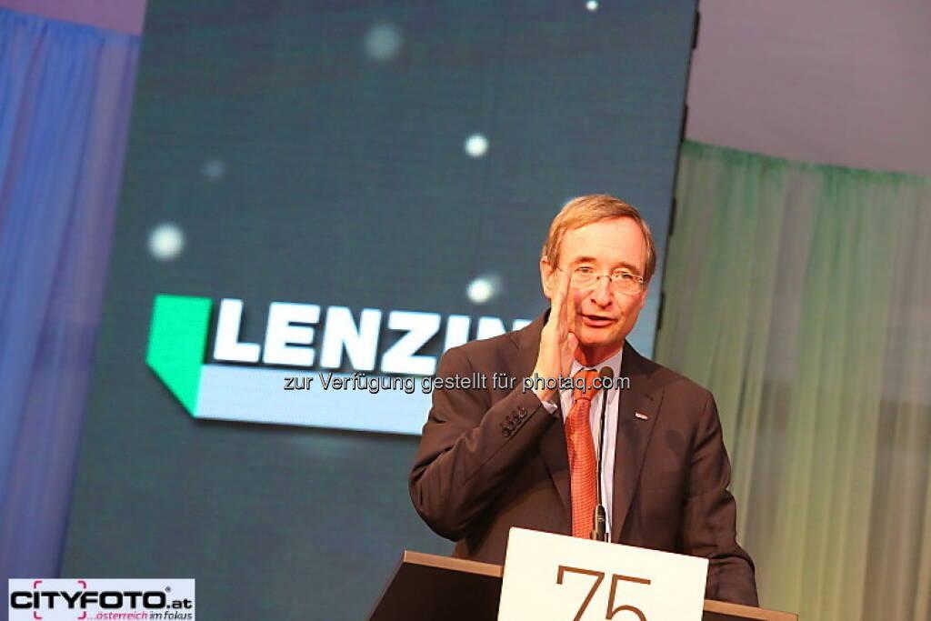 75 Jahre Lenzing: Christoph Leitl, © cityfoto.at (23.06.2013)