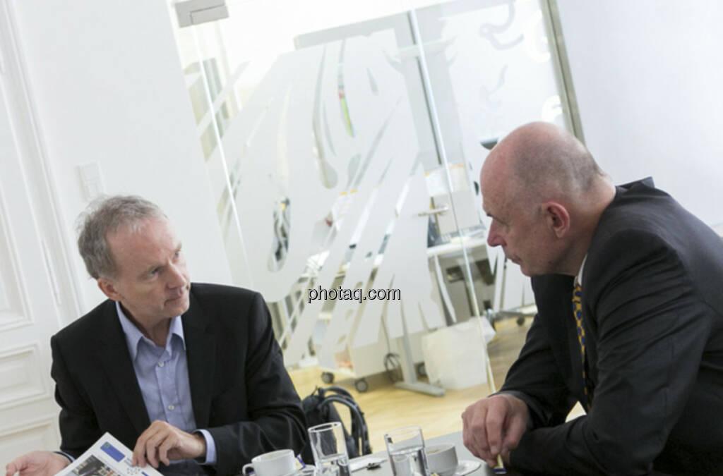 ... im Talk mit Wolfgang Nolz, Kapitalmarktbeauftragter der Bundesregierung (c) Martina Draper (26.06.2013)