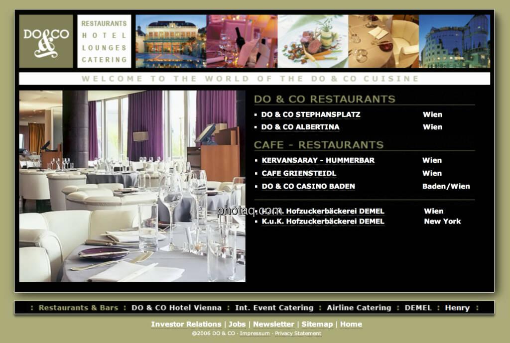 Do&Co ist am 30.6.1998 an die Wiener Börse gegangen (30.06.2013)