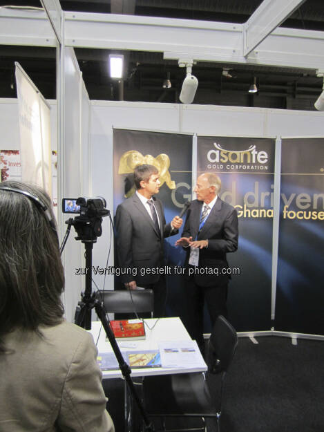 Robert Sarcher im Interview mit Douglas R. MacQuarrie von Asante Gold Corp., © IRW-Press (15.12.2012)