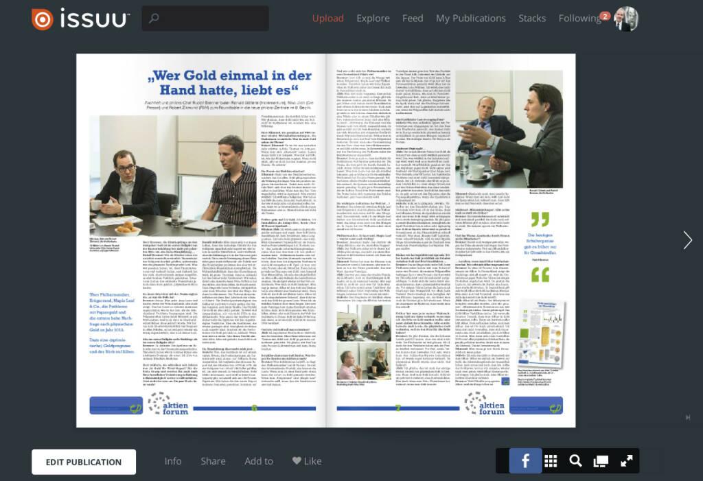 Seiten 6/7 - Gold-Roundtable mit Niko Jilch, Robert Zikmund, Ronald Stöferle und Rudolf Brenner http://www.christian-drastil.com/fachheft10 (04.07.2013)