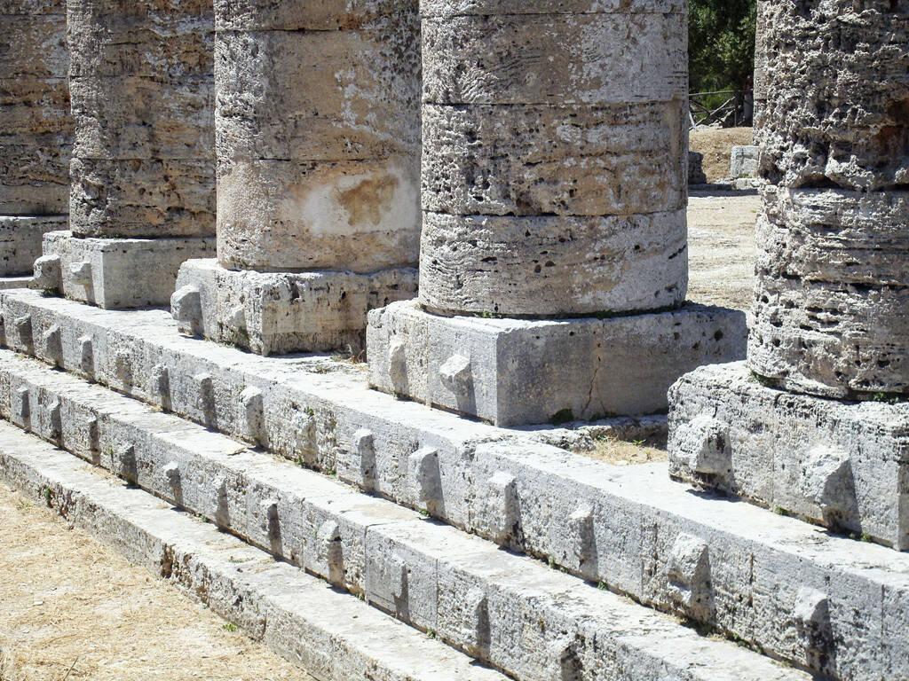 griechischer Tempel, Sizilien, Säulen, © Gabriele Hartweger (05.07.2013)