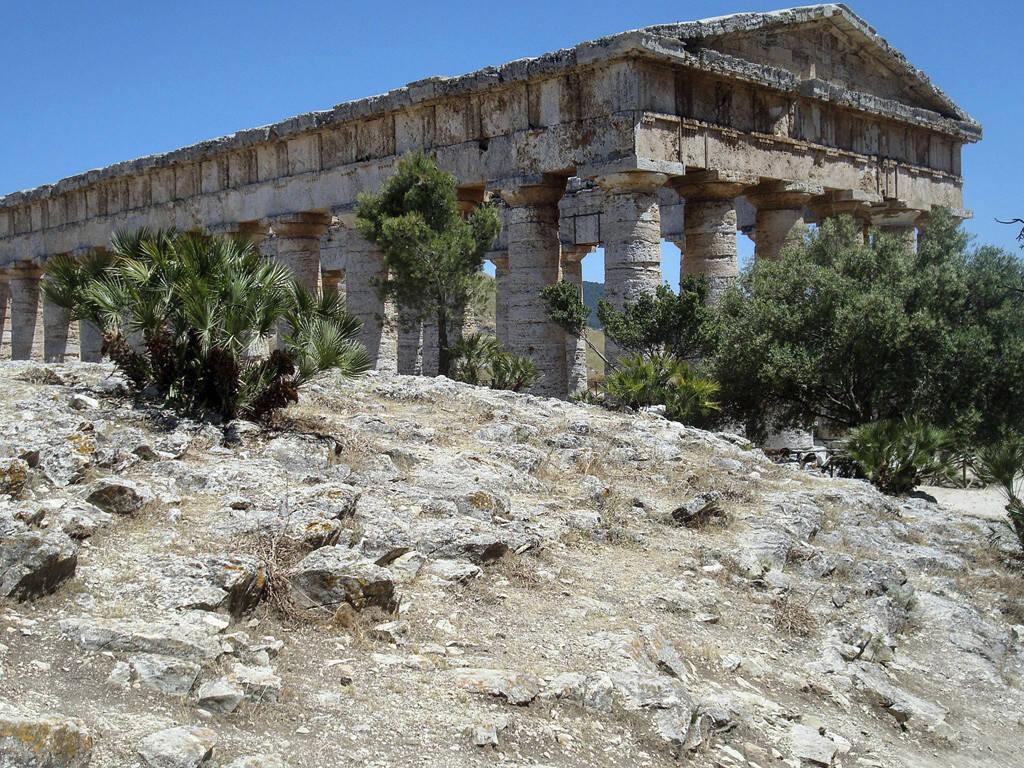 griechischer Tempel, Sizilien, © Gabriele Hartweger (05.07.2013)