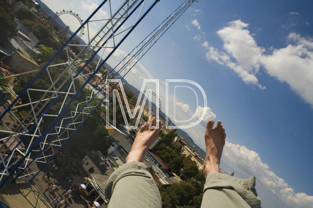Füße mit Praterluftansicht, © www.martina-draper.at (08.07.2013)
