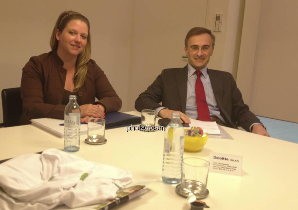 ... im Talk mit Melinda Mihoczy und Josef Schuch, Deloitte (08.07.2013)