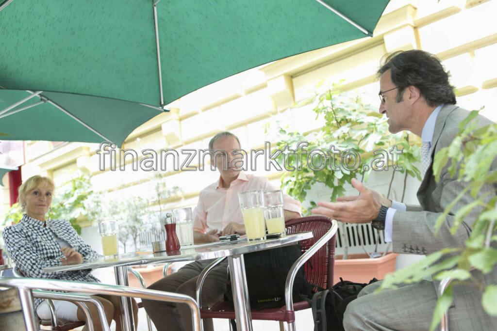 ... im Talk mit Isabella de Krassny und Karl Arco, mehr unter http://finanzmarktfoto.at/page/index/569 (13.07.2013)