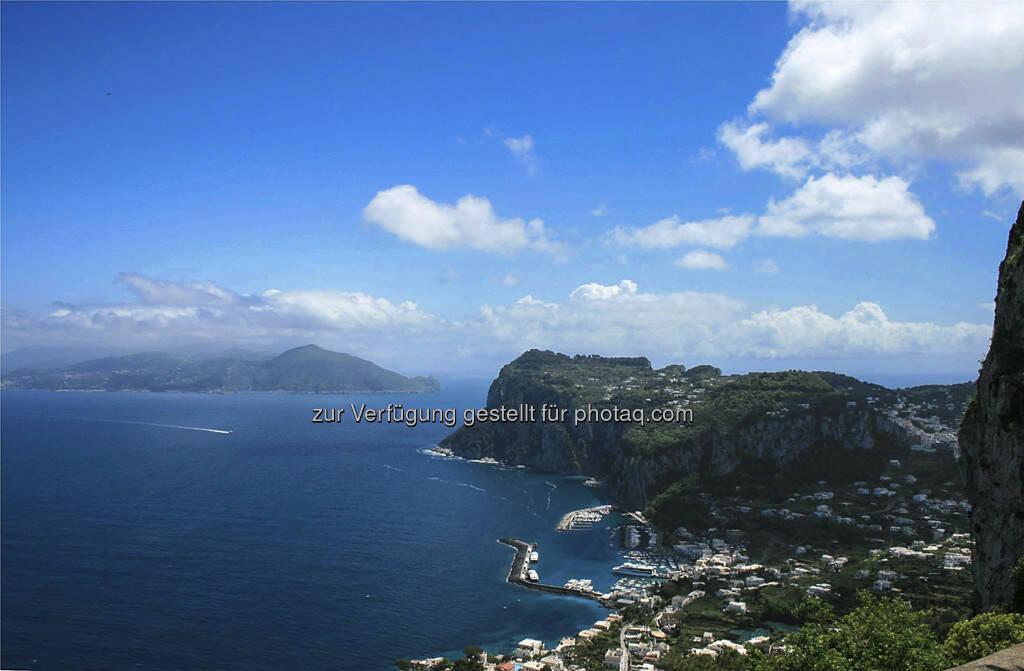 Bucht von Capri, © Gabriele Hartweger (15.07.2013)