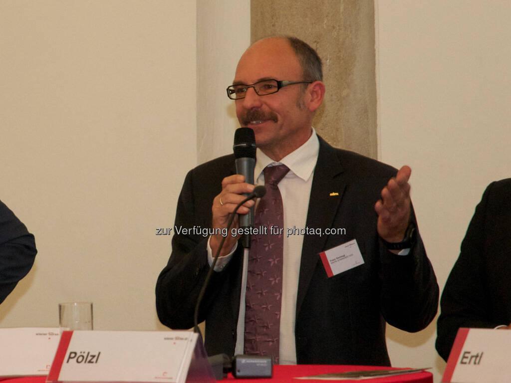 Franz Gschiegl (ESPA), © Wiener Börse, Claus Beischlager (15.12.2012)