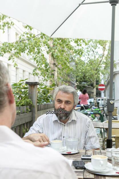 Christian Drastil, Thomas Irmler, © finanzmarktfoto.at/Martina Draper (25.07.2013)