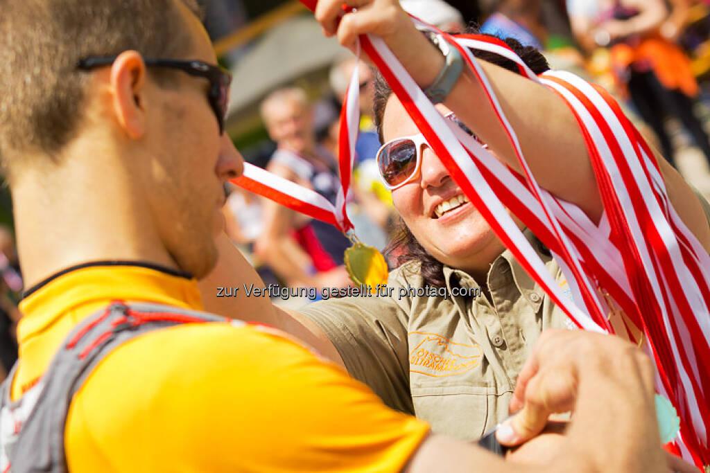 Medaillen, Sieger, ESPA-Ötscher-Marathon 2013 , © Rainer Mirau (27.07.2013)