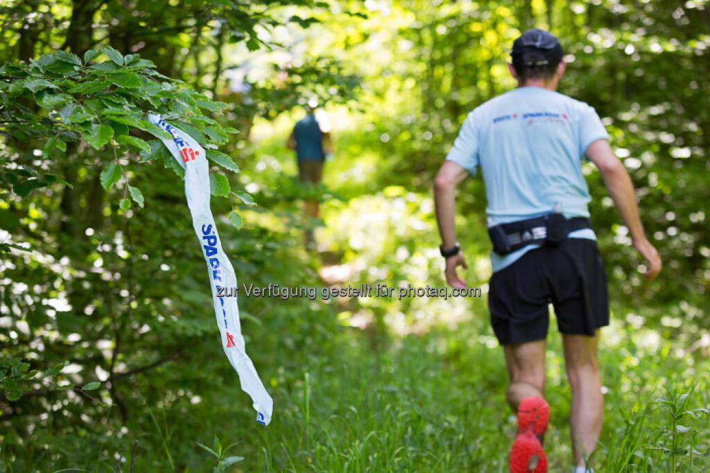 Sparkasse, Laufen beim ESPA-Ötscher-Marathon 2013 , © Rainer Mirau (27.07.2013)
