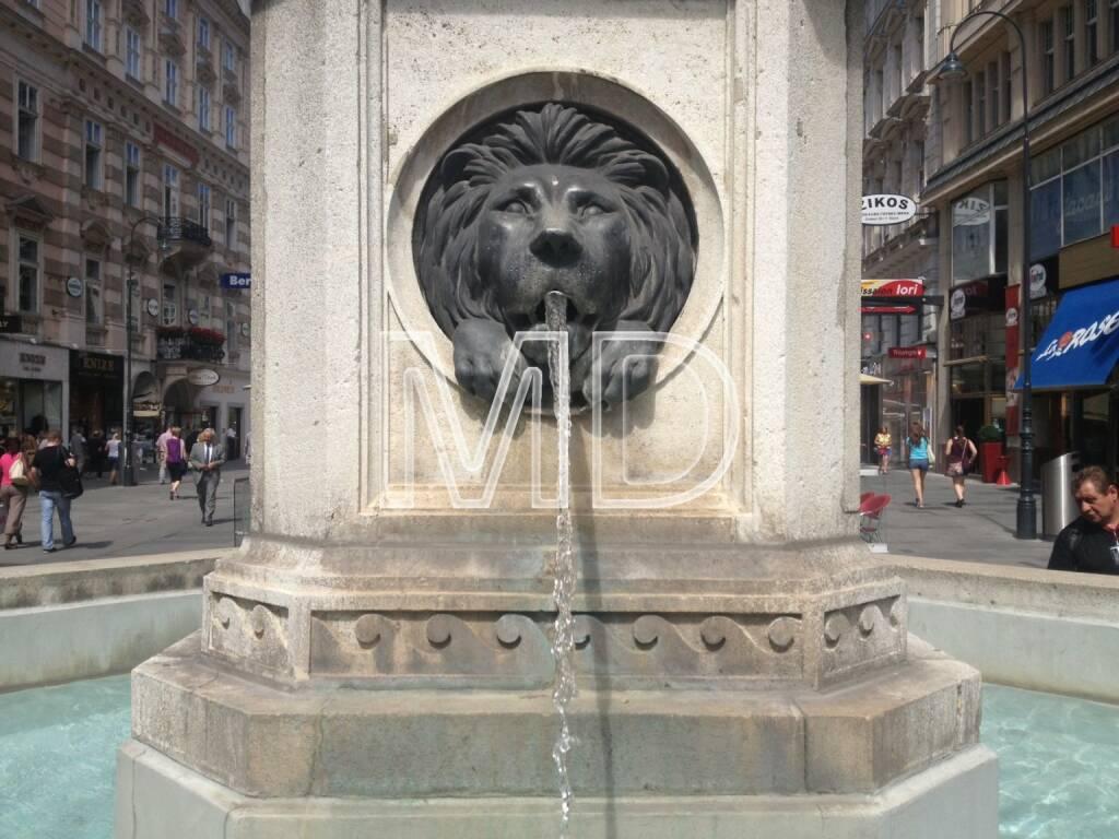 Brunnen, Löwe, © www.martina-draper.at (31.07.2013)