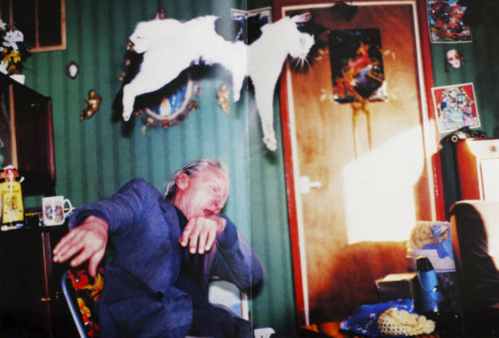 eine Seite aus Richard Billingham - Ray's a laugh, Preis: 150-250 Euro, http://josefchladek.com/book/richard_billingham_-_rays_a_laugh (02.08.2013)