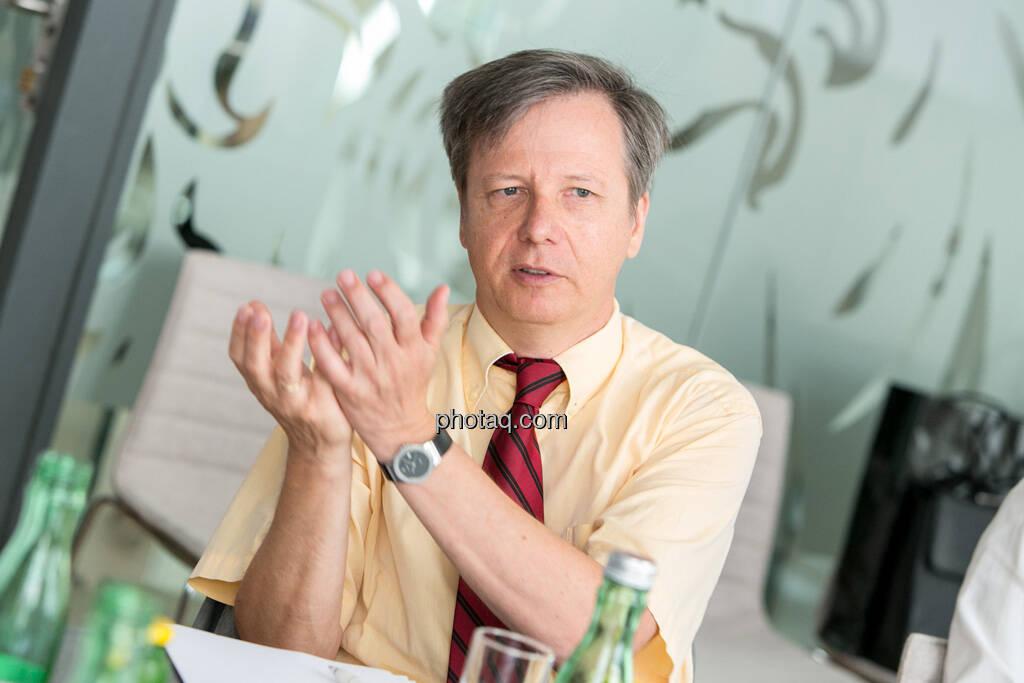 Heinrich Traumüller (Büro des Kapitalmarktbeauftragten, BMF), © finanzmarktfoto.at/Martina Draper (06.08.2013)