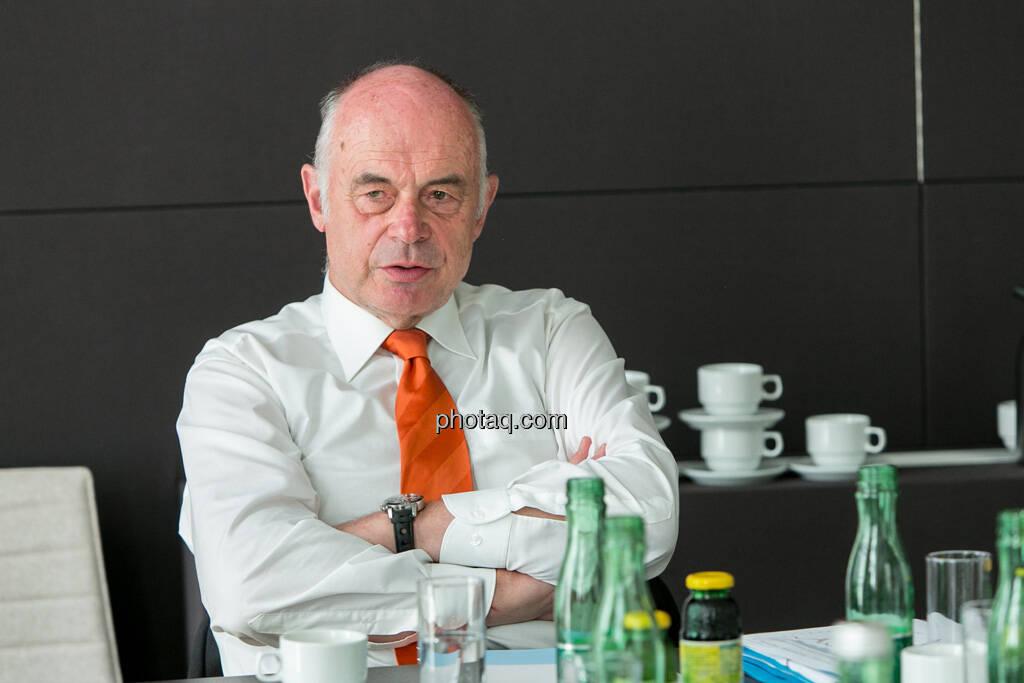 Wolfgang Nolz (Kapitalmarktbeauftragter, BMF), © finanzmarktfoto.at/Martina Draper (06.08.2013)