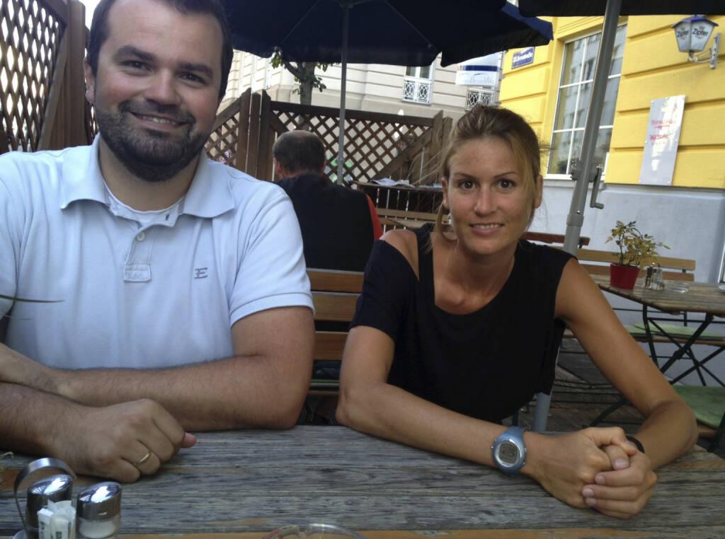 ... im Talk mit Christina Öhler und Stefan Greunz, wikifolio (08.08.2013)