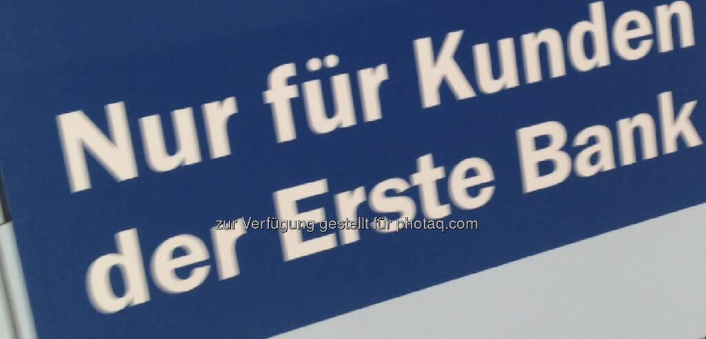 Nur für Kunden der Erste Bank (12.08.2013)
