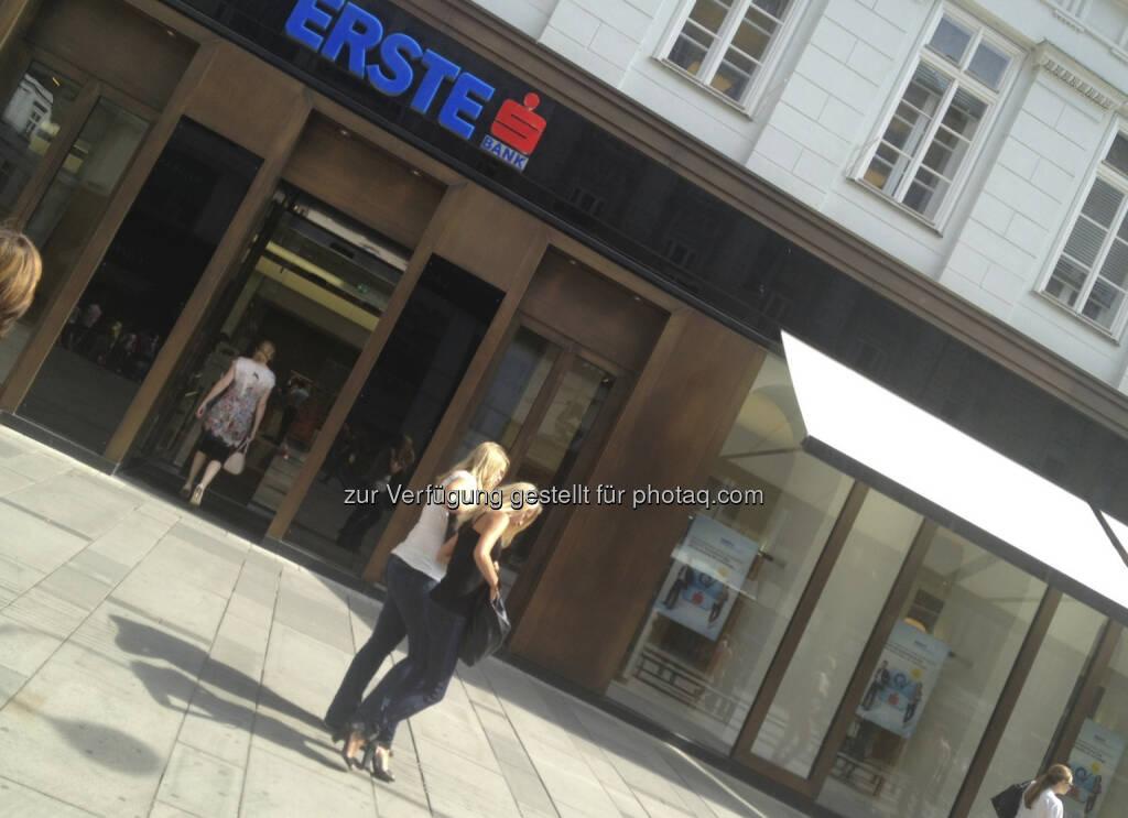 Erste Bank, Graben (12.08.2013)