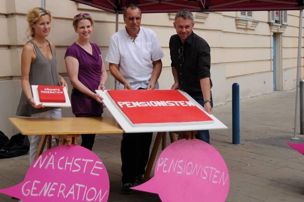 Kuchen Nächste Generation vs. Kuchen Pensionisten (Neos) (20.08.2013)