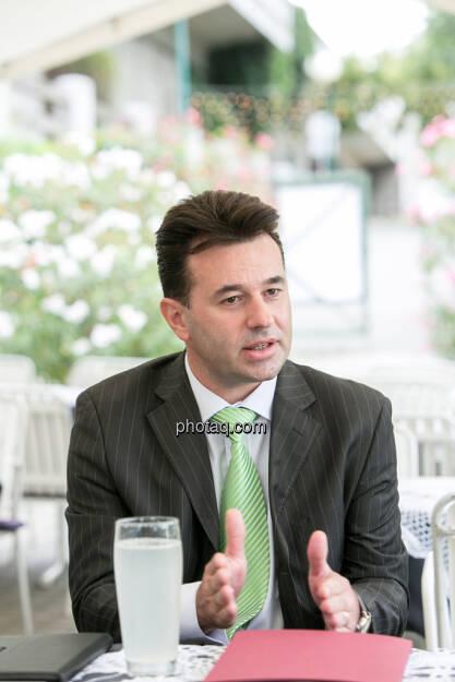 Miro Mitev (iq-Foxx), © finanzmarktfoto.at/Martina Draper (20.08.2013)