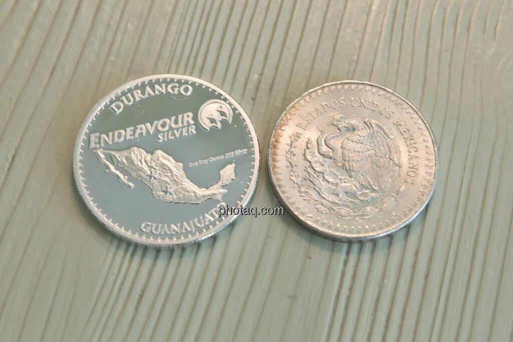 Silbermünzen, © Martina Draper (15.12.2012)