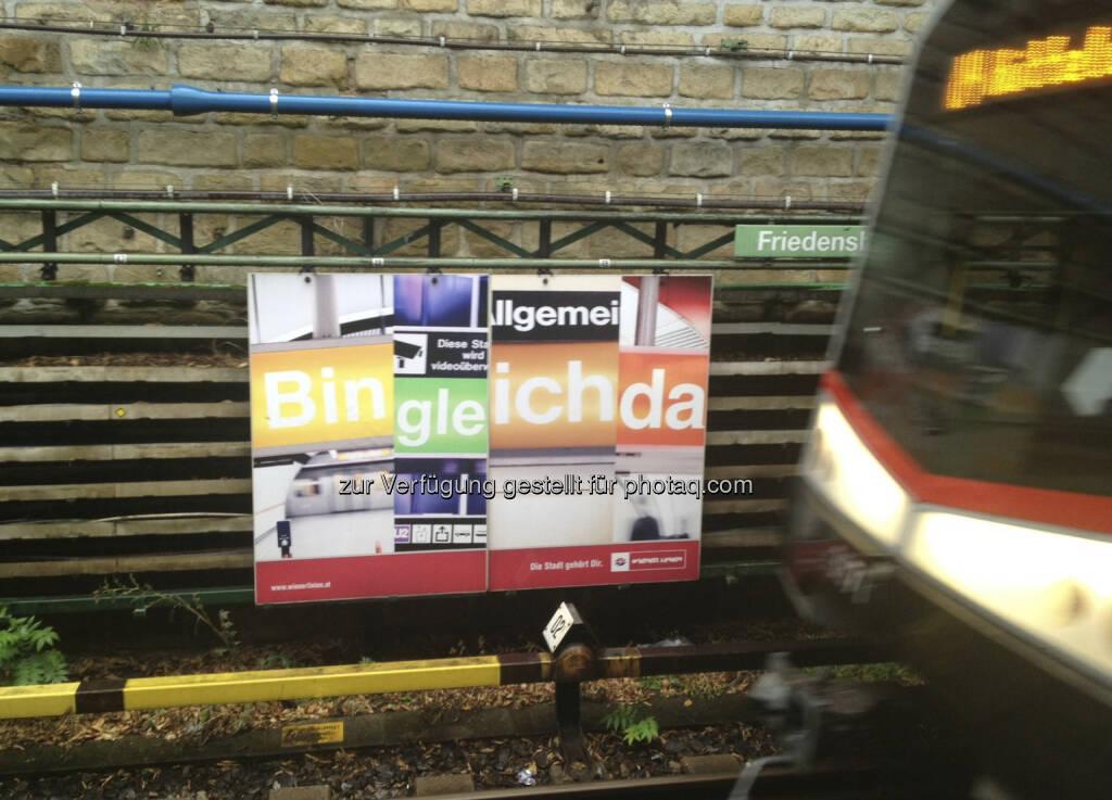 U-Bahn, Bin gleich da (28.08.2013)