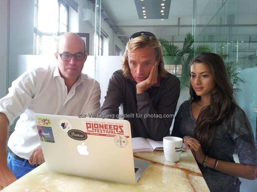 Oliver Holle, Daniel-Keiper Knorr: Speedinvest arbeitet am Austrian Start-up Report 2013 (03.09.2013)