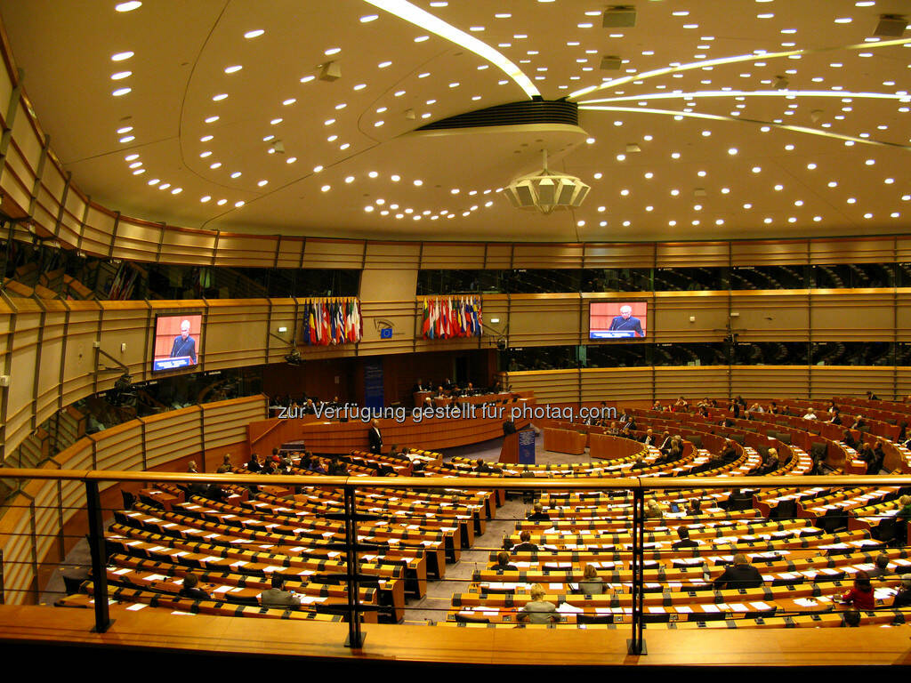 Brüssel, Europaparlament, Plenarsaal, © Wolfgang Wildner (08.09.2013)