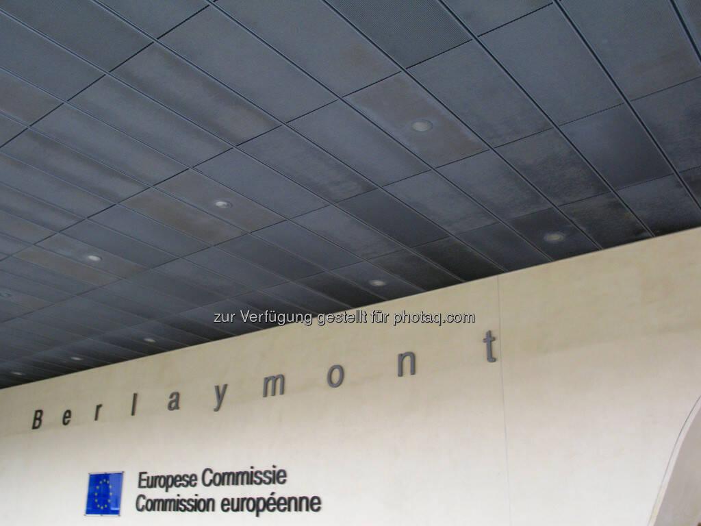 Brüssel, Europaparlament, Schriftzug, Gebäudeteil, © Wolfgang Wildner (08.09.2013)