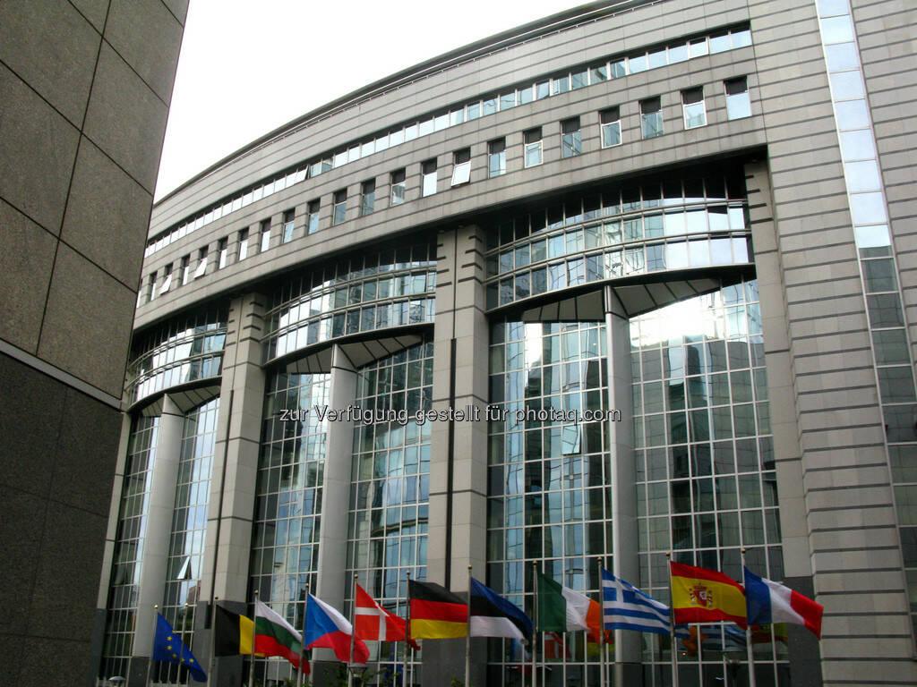 Brüssel, Europaparlament, Gebäudeteil, © Wolfgang Wildner (08.09.2013)