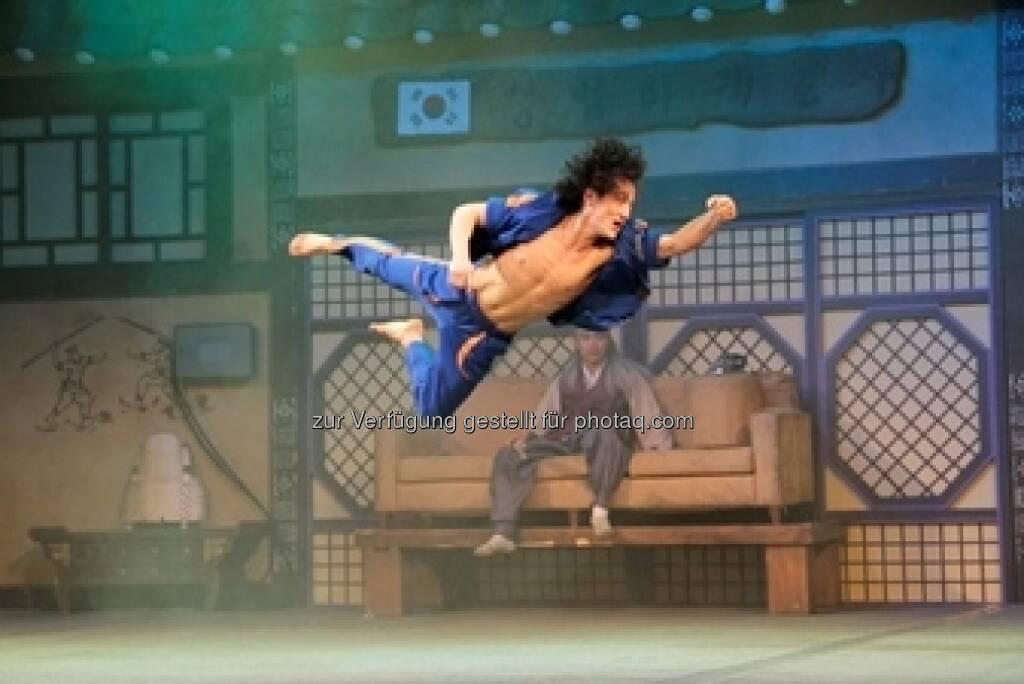 Am 21. und 22. September gastiert die südkoreanische Bühnensensation Extreme Jump im Wiener MuseumsQuartier (c) Allegria (17.09.2013)