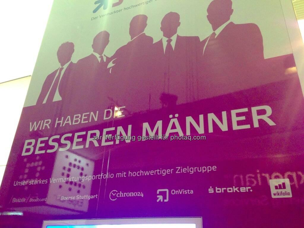 Dmexco Köln 2013: Wir haben die besseren Männer (19.09.2013)