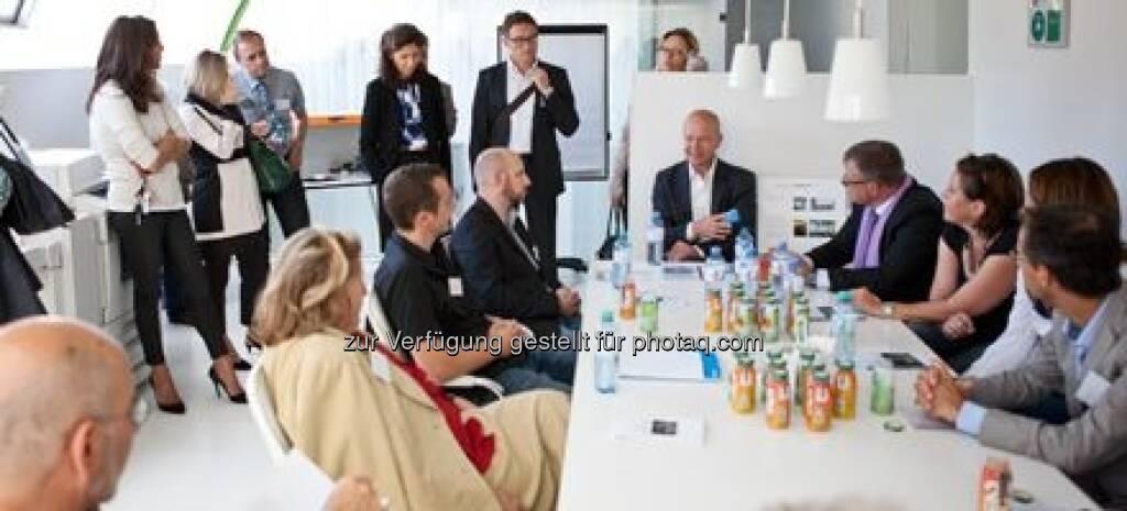 ...dank moderner Technologie sowie intelligenter Planung und Gestaltung wurde am Standort Europlaza eine Varianz an Arbeitsmöglichkeiten geschaffen, © M.O.O.CON (20.09.2013)